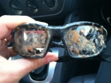 muddy glasses