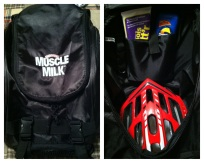 New Muscle Milk Cycling Backpack!